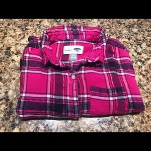 Girls Old Navy Boyfriend Fit Girls Shirt